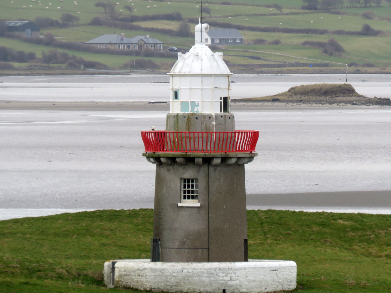 Lighthouses Of Western Ireland Connacht And Ulster - Discontinued lighthouse border