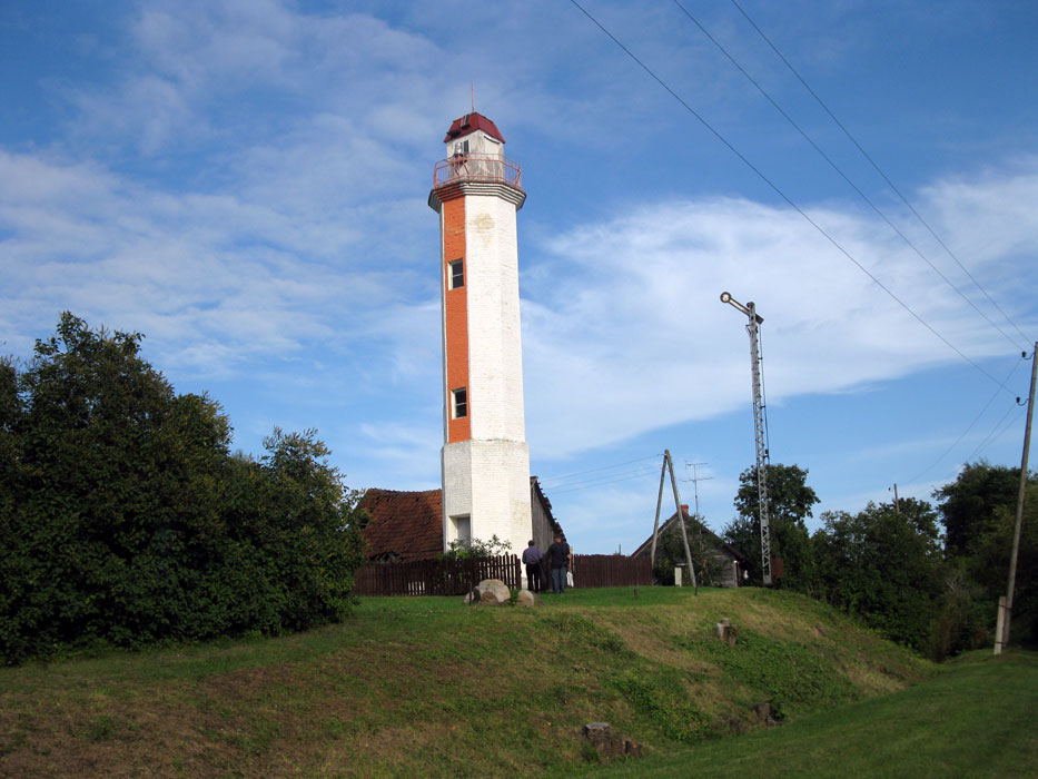 Lighthouses Of Latvia - Discontinued lighthouse border
