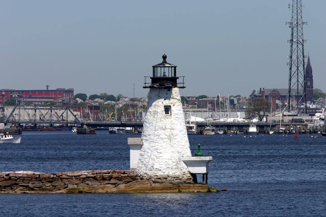 Lighthouses of the us southeastern massachusetts huelse has a historic postcard view and google has a satellite view one of the last old style stone towers built the keepers house was destroyed sciox Choice Image