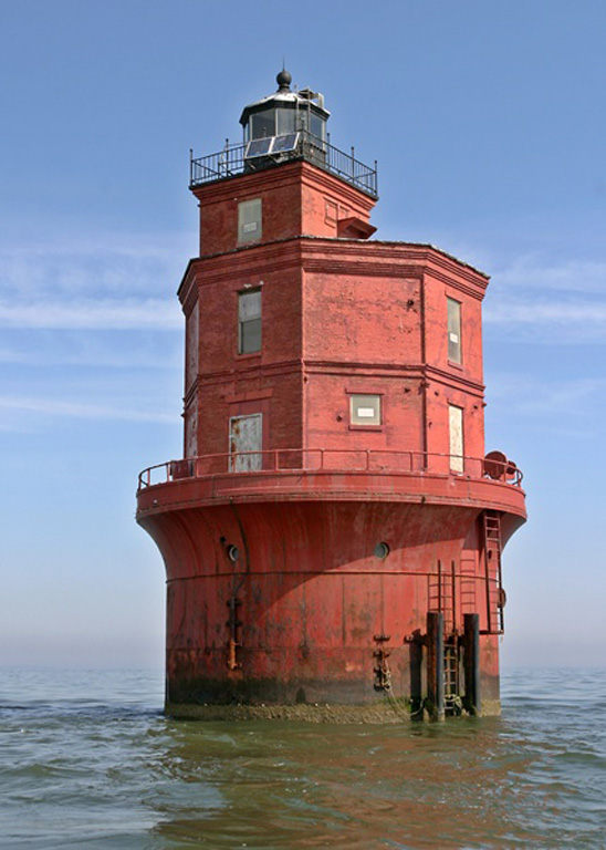 Lighthouses Of The US Virginia - Discontinued lighthouse border